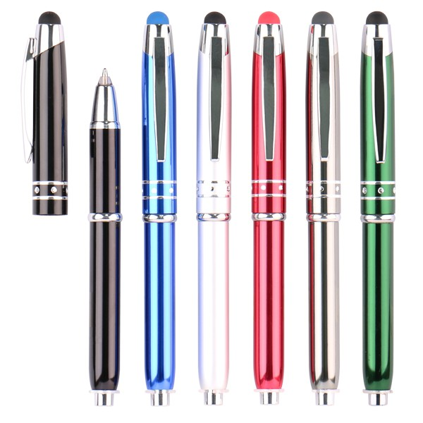 Within 24 hours response custom logo personalised thin metal pen