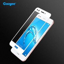 New arrival silk printing color tempered glass screen guard for Huawei Enjoy 7