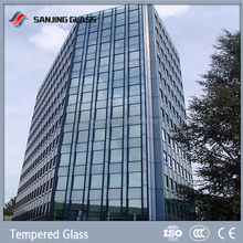 Insulated Glass/Low-E Balcony Glass Curtain Wall