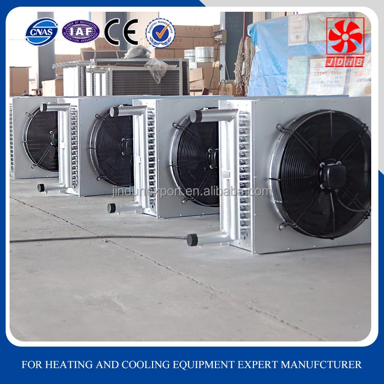 Big airflow poultry air cooler ducted split unit for industrial evaporative air conditioner
