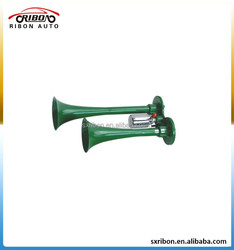 dual tone electronic control 12v or 24v green air horn