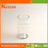 Good quality different types glass vase for sale