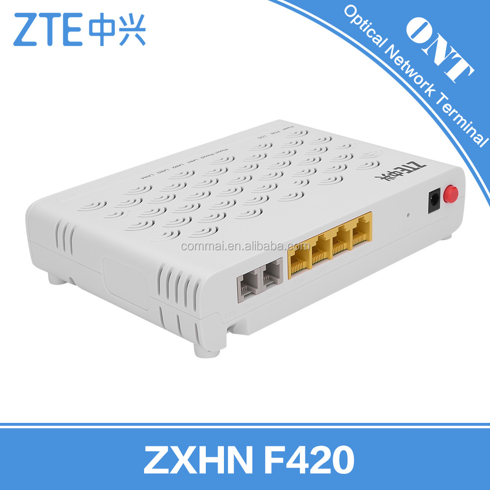 English Software ZXHN F420 / ZXA10 F420 EPON ONT EPON (Optical Network Terminal) FTTH Modes