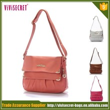 Wholesale nice quality hot branded women pu handbags and purses