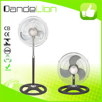 High Quality Powerful 18 inch industrial fan 2 in 1/standing ventilador A11