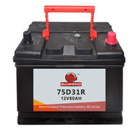 volvo battery car battery brands mf car battery 12v 75ah N70Z/75D31R