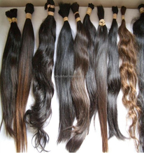 Wholesale price brazilian kinky curly human hair bulk unprocessed indian virgin 100 human hair bulk