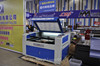 GH-1290 design clothes fabric laser cutting machine