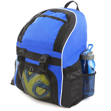 Sports customized basketball backpack with ball compartment
