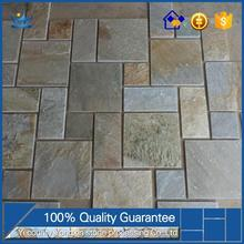 Chinese suppliers super cheap economy stone tiles flooring Hot Sale Natural Slate