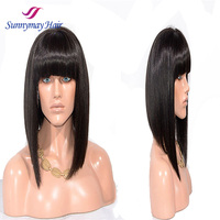 Aliexpress Wigs Brazilain Human Hair Short Bob Wigs For Black Women Human Hair Short Bob Lace Frontal Wigs