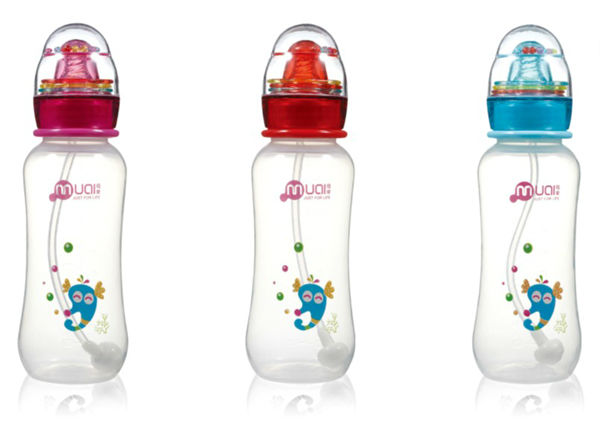 250ml standard neck pp unique baby feeding bottle in bulk BPA free food grade