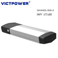 Victpower 36v 17ah 10S5P Electric bicycle lithium ion battery pack with USB port
