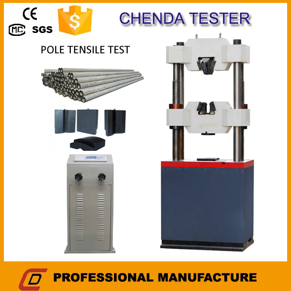 Electronic Product Testing Instruments : Concrete electronic pole test equipment with scientific