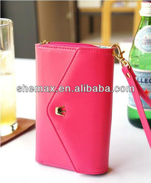 Multi Purpose Leather Wallet Case Cover For Samsung Galaxy S i9000 S3 i9300