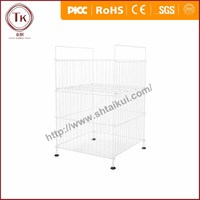 warehouse storage cage grocery cart