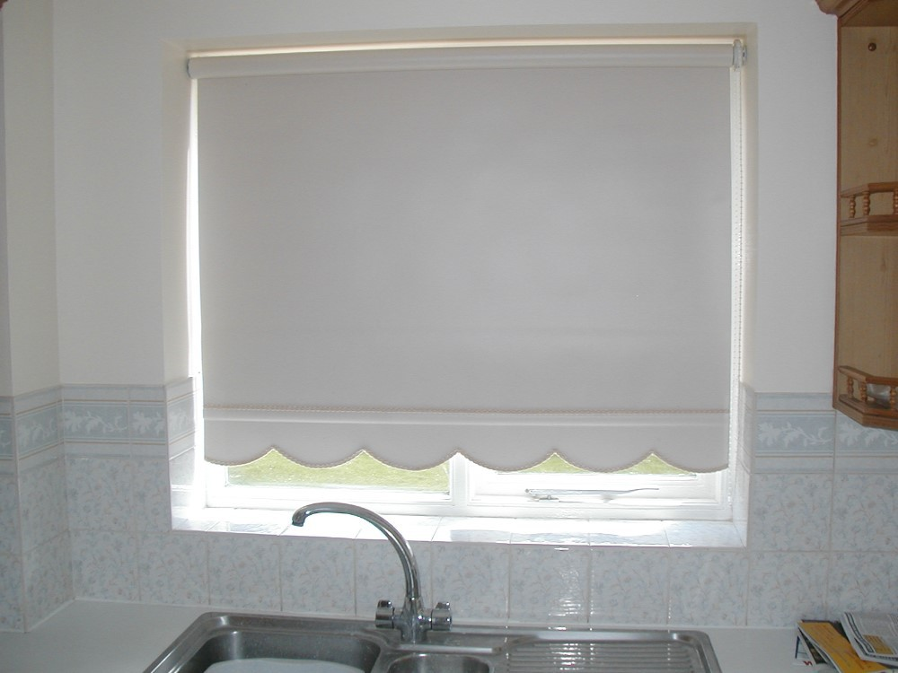 Outdoor Home Decor Motorized Roller Window Shade