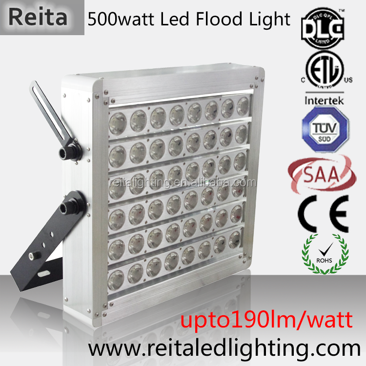 2017 led flood Light for High-speed photography 500w High Luminous Flux Delivery fixtures