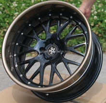 "customized 3 pieces forged wheels for T6061 slant lip + inner barrel 16"" 17"" 18"" 19"" 20"" 21"" 22"" 24"" 26"" inch by gx car rim"