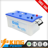 Korean JIS standard dry car battery N180