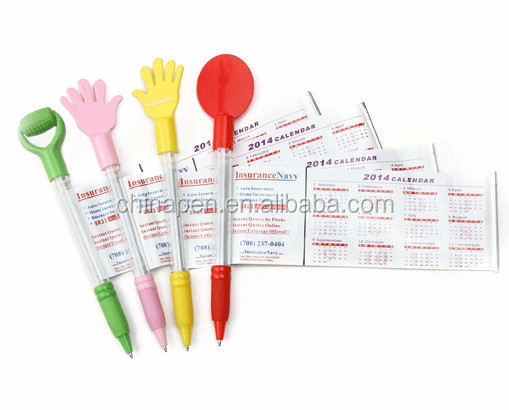 Promotional gift for chrismas stationery 3D banner ball pen