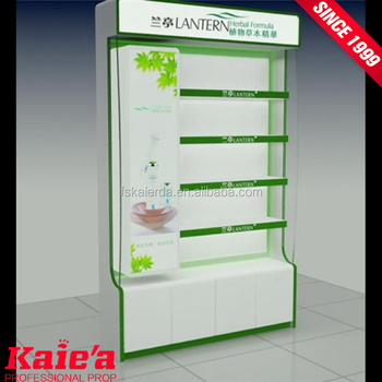 Wholesale cosmetic cabinet cosmetic store shelf store furniture