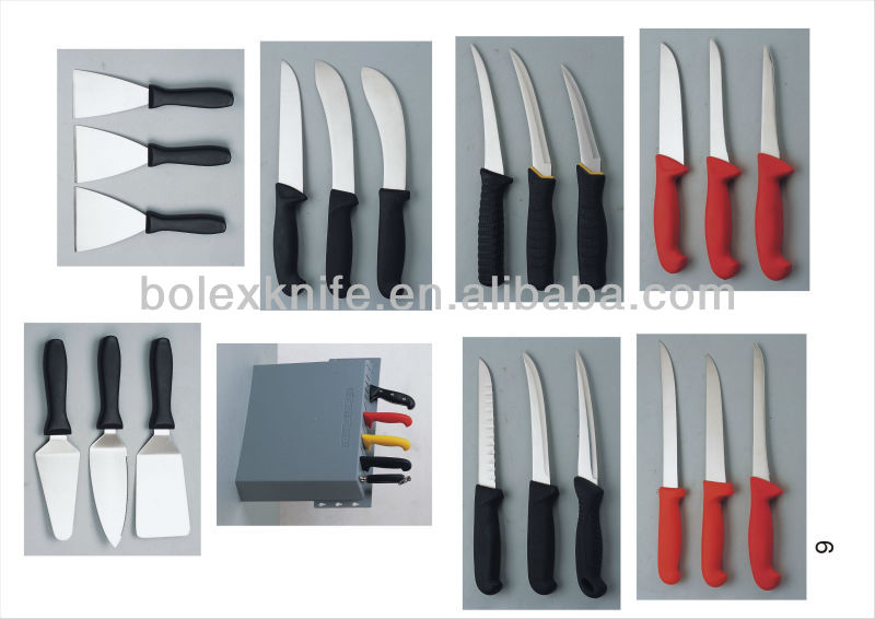 seafood fish processing hand knives and tools