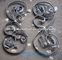 ornamental color steel fence panel