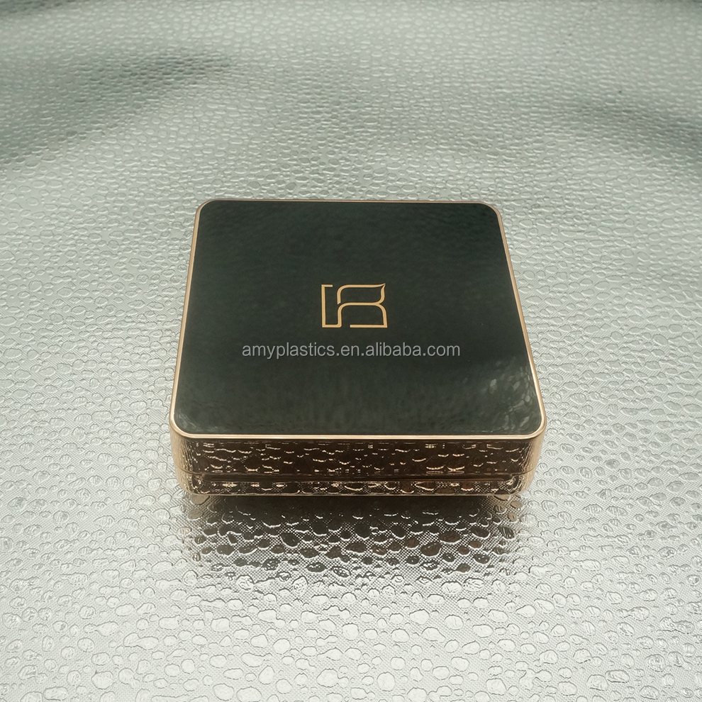 Square Empty Makeup Compact Air Cushion BB&CC Cream Container