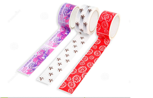 Home decoration good adhesive crepe washi masking tape