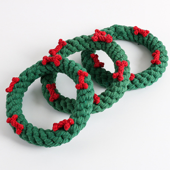 Popular Dog Rope Chew Toy Christmas Dog Toy