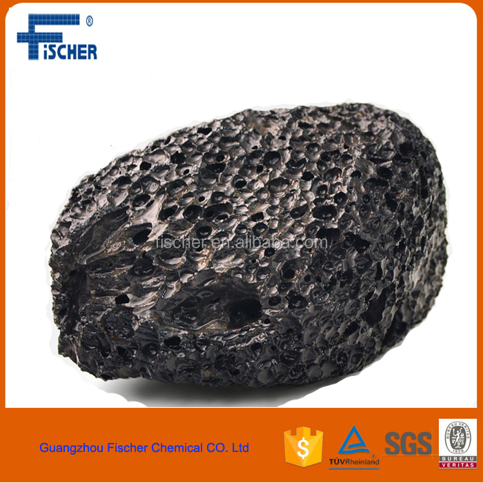 aquarium natural Decorative Volcanic Rock good price for sale , black larva stone