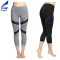 Lotsyle Mesh Yoga Leggings Women Running Capris Tights