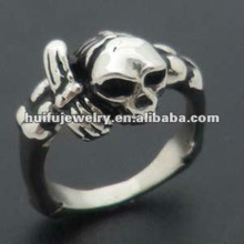 R00201 stainless steel puzzle ring
