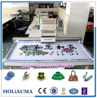 Single Head Cap T-shirt Embroidery Machine with Welcome Embroidery CAD Software