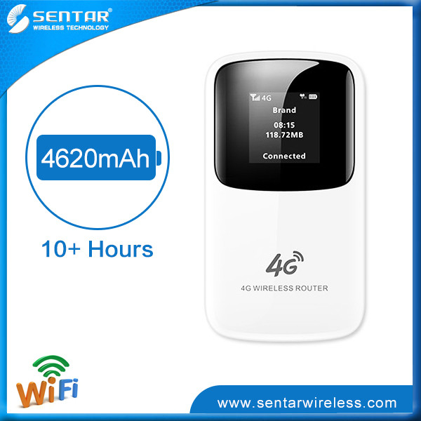 Share Wifi With Wireless Devices 4G Sim Card Router Sentar R90 4G LTE Consumer Wifi Router