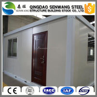 Popular firm shipping mobile guard container house