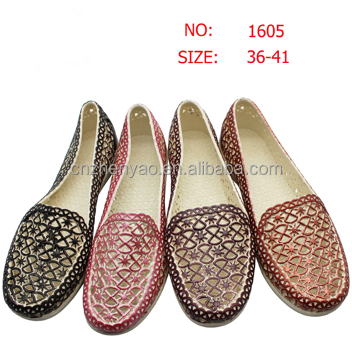cheap price women sandals pvc pcu ladies slippers and sandals shoes