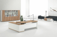 Marketing plan new product white executive office desk goods from China