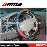 Memory Foam bule steering wheel covers