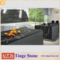 Black Cosmic Granite Island Tops,Black Kitchen Countertop