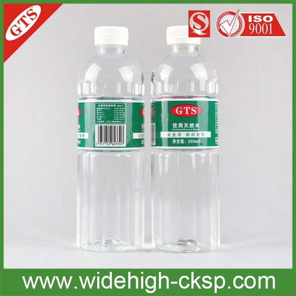 GTS Drinking Natural Water 550cc Soft Gold Water Still Sparkling PH Water
