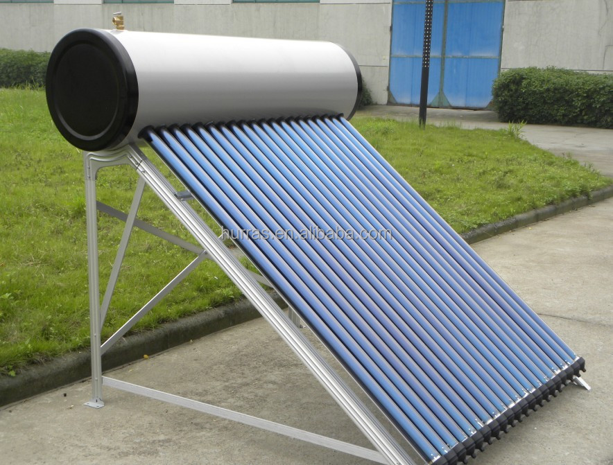 Hot selling pressure water solar heater for home use