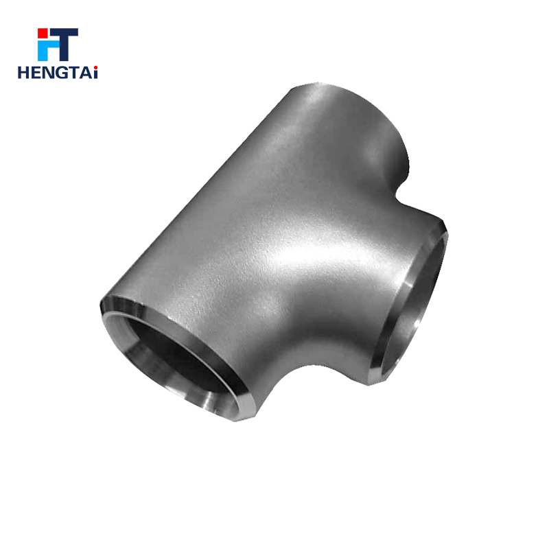 Forged pipe fitting tee carbon steel welded triplet 3 way pipe connector