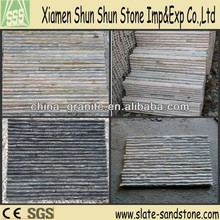 Natural slate stack stone for wall cladding