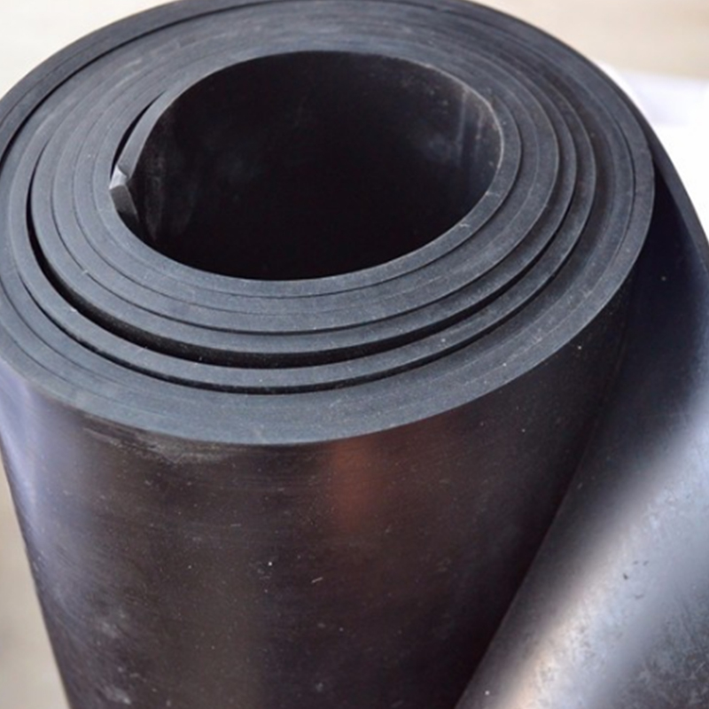 Industrial Fire Resistance Black Chloroprene Rubber Sheet