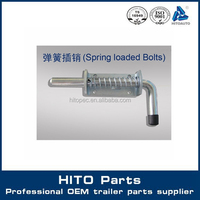 Kinds of Trailer Box Body Spring Loaded Shoot Bolts