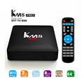New Arrival KM8 Pro Android TV Box 2G+16G+Dual WIFI Android 6.0 Marshmallow TV BOX Amlogic S912 Octa Core TV Box