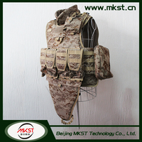 MKST650 Series With Quick Release System Camo Military Bulletproof Vests , Covert Body Armour , Body Armor Carrier