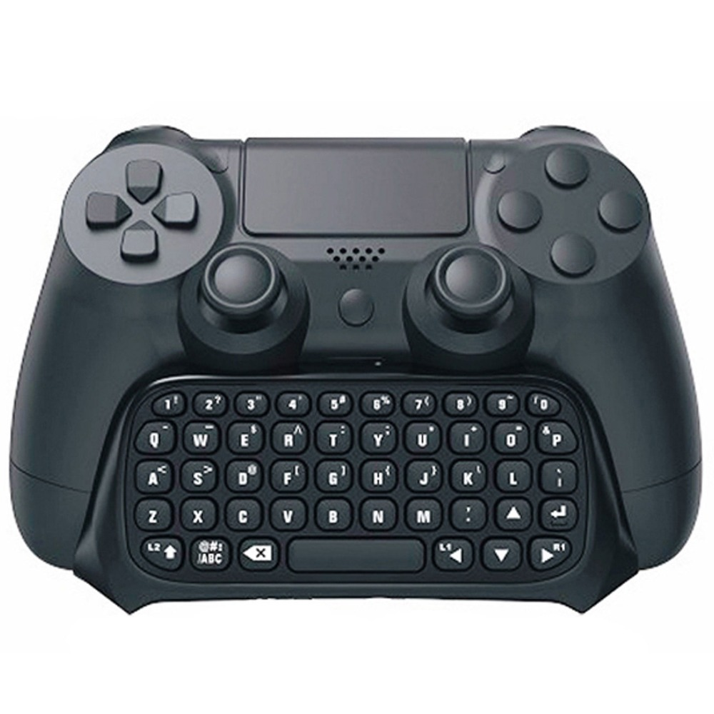 Wireless Mini Bluetooth Keyboard - Keypad Chatpad for Sony Playstation 4 PS4 controller